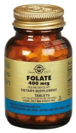 Solgar Folato - Metafolin 400μg 50 comprimidos