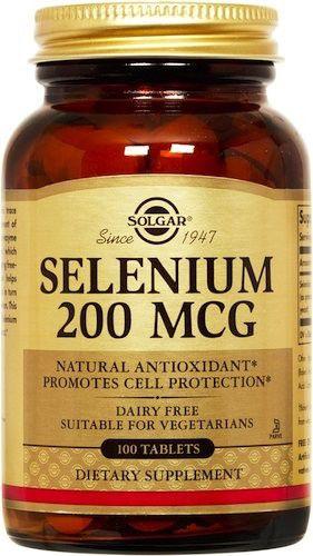 Solgar Selenio 200 microgramos 100 comprimidos