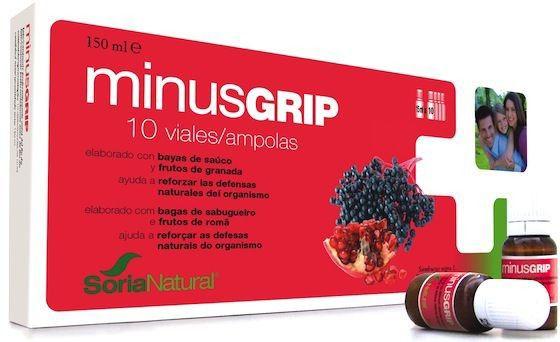 Soria Natural Minusgrip 10 viales