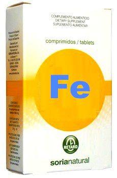 Soria Natural Hierro Retard 32 comprimidos