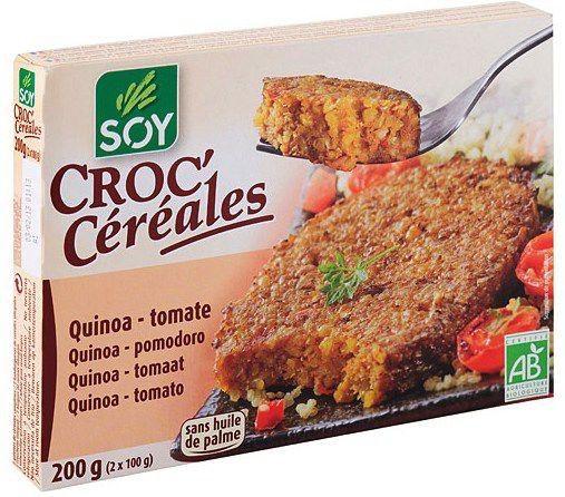 Soy Croc Cereales Quinoa y Tomate Bio 2x100g