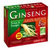 Super Diet Ginseng y Jalea Real Bio 20 ampollas