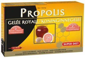 Super Diet Jalea Real Propolis 20 ampollas