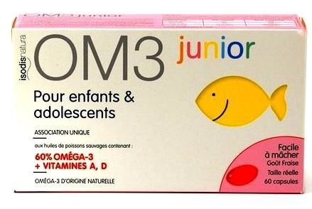 Super Diet OM3 Junior 60 cápsulas