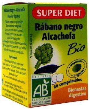 Super Diet Rábano Negro y Alcachofa 80 comprimidos