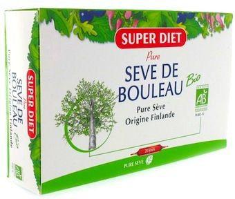 Super Diet Savia de Abedul Bio 20 ampollas