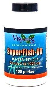 Vbyotics Superfish 60 100 perlas