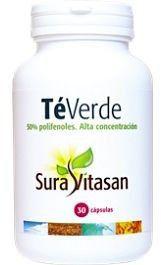 Sura Vitasan Té Verde 250g 30 cápsulas