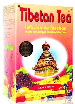 Té Tibetano sabor Frutas 90 bolsitas