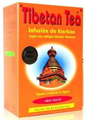 Té Tibetano sabor Natural 90 bolsitas