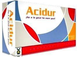 Tegor Acidur 60 cápsulas