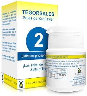 Tegor Calcium-Phosphoricum 2 Tegorsales 20g