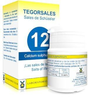Tegor Calcium-Sulfuricum 12 Tegorsales 20g