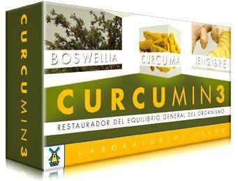 Tegor Curcumin 3 30 comprimidos