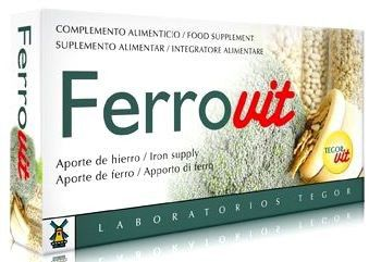 Tegor Ferrovit Vitablets 30 comprimidos
