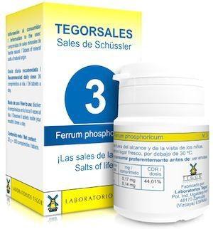 Tegor Ferrum-Phosphoricum 3 Tegorsales 20g