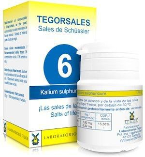 Tegor Kalium-Sulfuricum 6 Tegorsales 20g