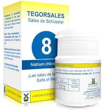 Tegor Natrium Chloratum 8 Tegorsales 20g