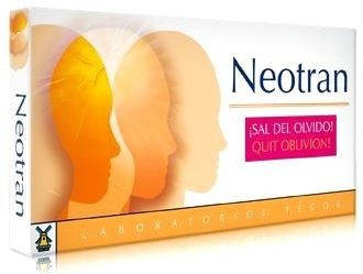 Tegor Neotran 20 cápsulas