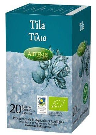 Artemis Infusión de Tila Bio 20 filtros
