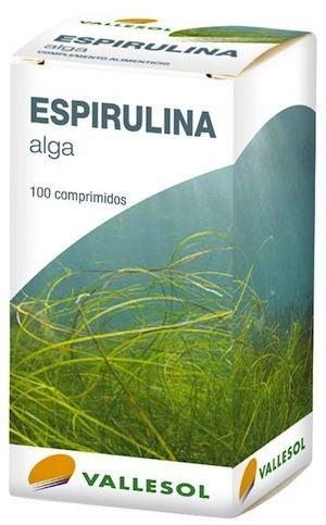 Vallesol Espirulina 100 comprimidos
