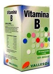 Vallesol Vitamina B Complex 30 comprimidos