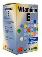 Vallesol Vitamina E 30 comprimidos