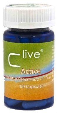 Vbyotics C Live Active Calostro 60 cápsulas
