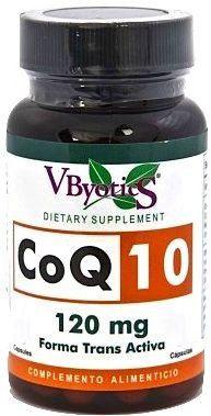 Vbyotics Coenzima Q10 120mg 100 cápsulas