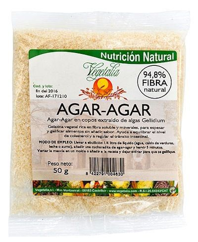 Vegetalia Alga Agar Agar copos 50g