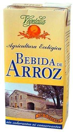 Vegetalia Bebida de Arroz Bio 4 x 1 L