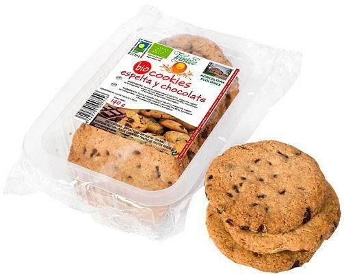Vegetalia Cookies de Espelta con Chocolate Bio 140g