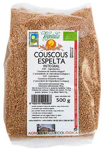 Vegetalia Couscous Espelta Integral Bio 500g