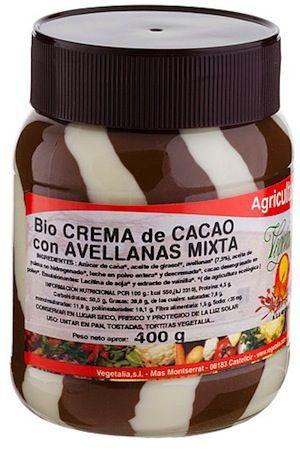 Vegetalia Crema de Cacao con Avellanas Mixta Bio 400g