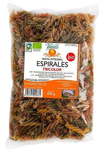 Vegetalia Espirales Tricolor Bio 500g