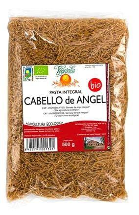 Vegetalia Fideos Cabello de Angel Integrales Bio 500g