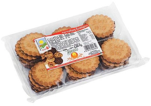 Vegetalia Galletas de Espelta con Chocolate Bio 300g