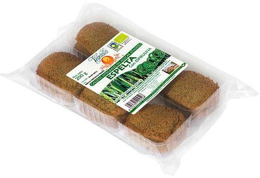 Vegetalia Galletas de Espelta con Espirulina Bio 200g