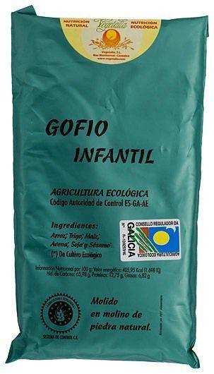 Vegetalia Gofio Infantil Bio 500g