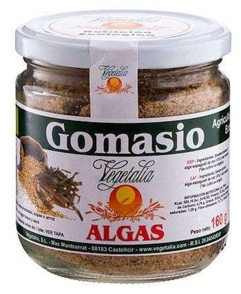 Vegetalia Gomasio Bio Algas 160g