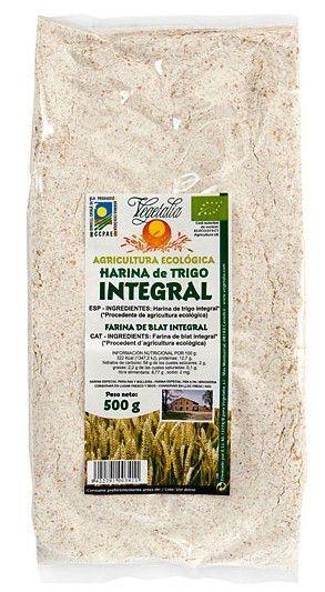 Vegetalia Harina Integral de Trigo Bio 500g