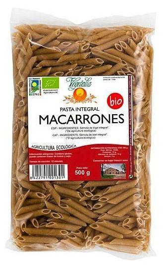 Vegetalia Macarrones Integrales Bio 500g