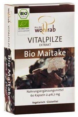 Pilze Wohlrab Maitake Bio 60 cápsulas