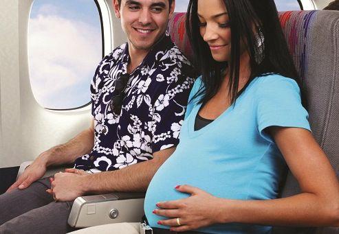 viajar embarazo