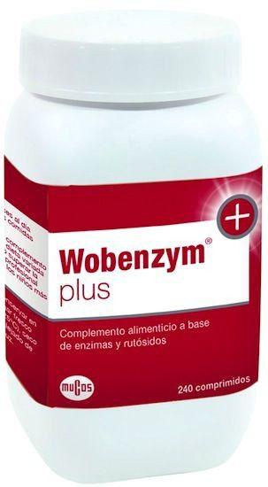 Wobenzym Plus 240 comprimidos