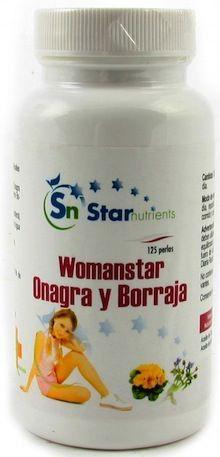 WomanStar Onagra & Borraja 125 perlas