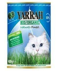 Yarrah Comida en Lata para Gatos con Pescado Bio 400g