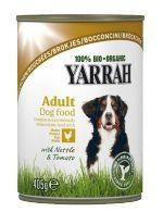 Yarrah Trocitos de Pollo en Lata para Perros Bio 400g
