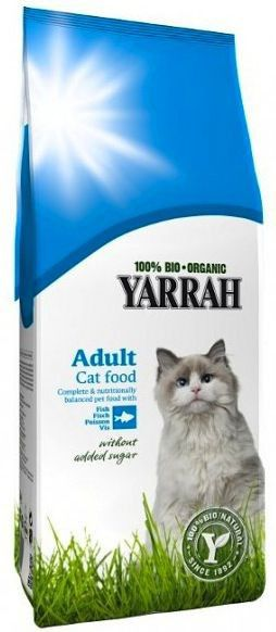 Yarrah Pienso para Gatos con Pescado Bio 3 Kg