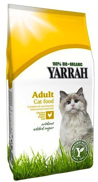 Yarrah Pienso para Gatos con Pollo Bio 800g